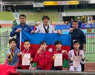 Avropa birinciliyində 7 medal