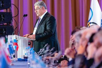 Azad Rəhimov Avropa Olimpiya Komitələri 48-ci Baş Assambleyasında