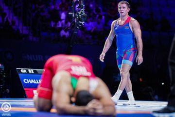 Rafiq Hüseynov finalda uduzdu, Eldəniz Əzizli bürünc qazandı