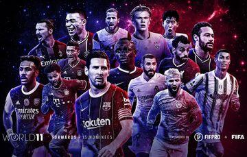 İlin rəmzi komandası üçün 55 futbolçunun adını açıqladı – FİFA