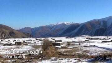Kəlbəcər rayonunun Zar kəndi - VİDEO