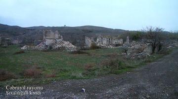 Cəbrayıl rayonunun Şıxalıağalı kəndi - VİDEO