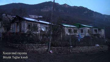 Xocavənd rayonunun Böyük Tağlar kəndi - VİDEO