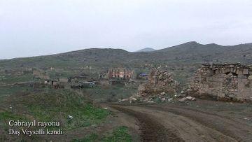 Cəbrayıl rayonunun Daş Veysəlli kəndi - VİDEO