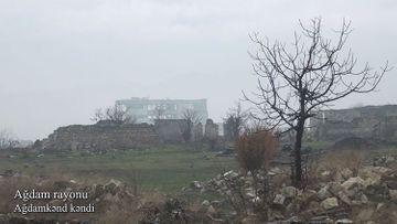 Ağdam rayonunun Ağdamkənd kəndi - VİDEO