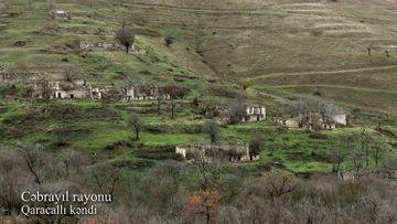 Cəbrayıl rayonunun Qaracallı kəndi - VİDEO