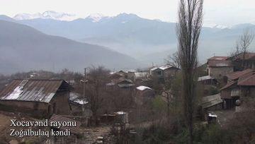 Xocavənd rayonunun Zoğalbulaq kəndi - VİDEO