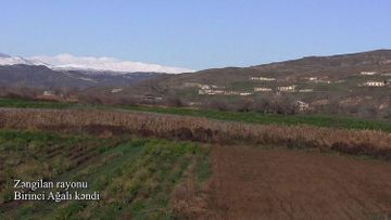 Zəngilan rayonunun Birinci Ağalı kəndi - VİDEO
