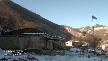 Kəlbəcərin Almalıq kəndi - VİDEO