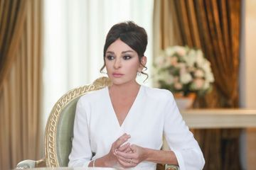 Mehriban Əliyeva Azərbaycan yığmasını təbrik etdi