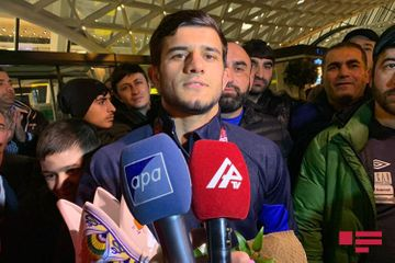 """""""Olimpiadada da davamını gətirməyə çalışacağam"""" - Sənan Süleymanov"""