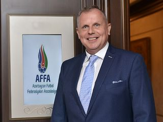 AFFA rəsmisi Ukrayna yığmasının oyununda