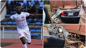 Nigeriya millisinin sabiq futbolçusu qəzada öldü