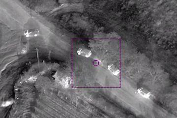 MN: Düşmənin hərbi avtomobil korteji məhv edildi – VİDEO