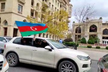 Şuşanın işğaldan azad edilməsi xəbəri: Bakıda Qələbə sevinci!!! - VİDEO