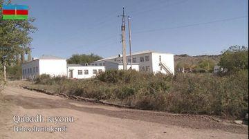 Qubadlının işğaldan azad olunan Balasoltanlı kəndi - VİDEO