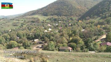 Xocavənd rayonunun işğaldan azad olunan Tsakuri kəndi - VİDEO