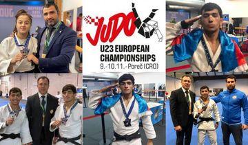 Avropa birinciliyinə 3 medalla başladılar - Azərbaycan cüdoçuları