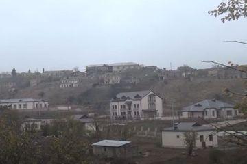 Tərtərin işğaldan azad olunan Talış kəndi - VİDEO