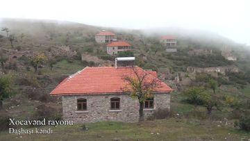 Xocavənd rayonunun işğaldan azad olunan Daşbaşı kəndi -VİDEO
