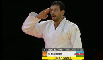 """Cüdoçularımızdan 1 qızıl, 2 bürünc medal - """"Böyük dəbilqə""""də"""