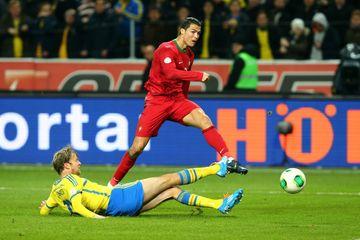 Millidə 101-ci qol – Ronaldo rekordun 8 addımlığında