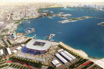 Çadır, ərəb baş geyimi və konteynerlərdən qurulan arena – DÇ-2022-nin stadionları