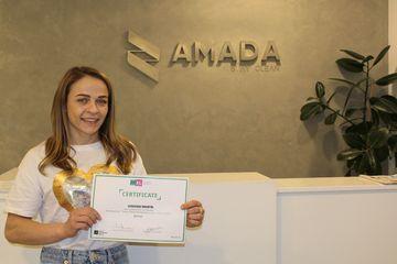Sertifikatı alan ilk idmançı oldu - Mariya Stadnik