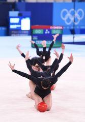 Gimnastlarımızın çıxışı - FOTOSESSİYA