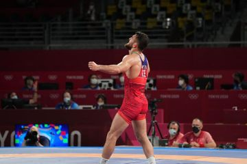 Hacı Əliyev gümüş medal qazandı - Tokio-2020