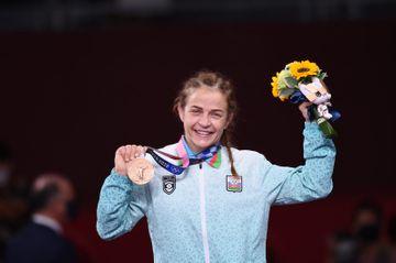 Mariya Stadnikdən 4-cü Olimpiya medalı - FOTOSESSİYA