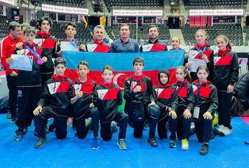 Avropa birinciliyindən 7 medalla qayıdır - taekvondoçularımız