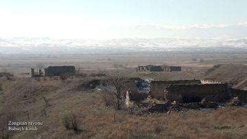 Zəngilanın Babaylı kəndi - VİDEO