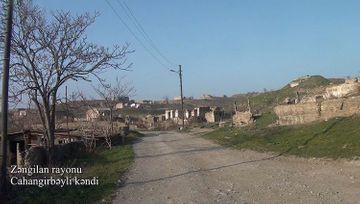 Zəngilan rayonunun Cahangirbəyli kəndi - VİDEO