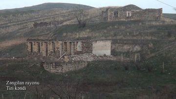 Zəngilanın Tiri kəndi - VİDEO
