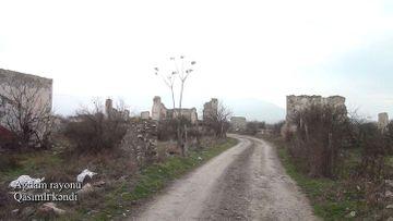 Ağdamın Qasımlı kəndi - VİDEO