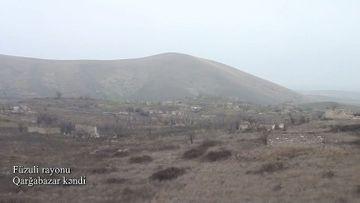 Füzulinin Qarğabazar kəndi - VİDEO