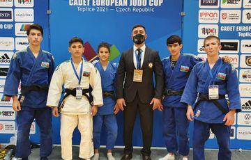 Cüdoçularımız Avropa kubokuna 4 medalla başladı - FOTOSESSİYA