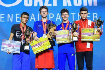 Avropa birinciliyini gümüş medalla başa vurdu - boksçumuz