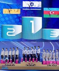 Qran-pridə medal - gimnastlarımızdan