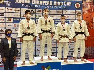 Cüdoçularımızdan ilk gündə 3 medal - Avropa kubokunda