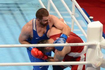 Olimpiadada mübarizəni dayandırdı - Məhəmməd Abdullayev