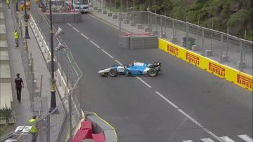"""Daha bir pilot yarışı dayandırdı - """"Formula-2""""də"""