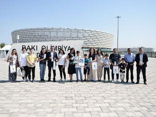AFFA uşaqlara AVRO-2020-nin oyunlarına bilet hədiyyə edib - FOTOSESSİYA