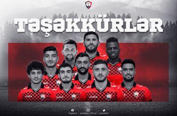 """9 futbolçu ilə vidalaşdı – """"Qəbələ"""""""