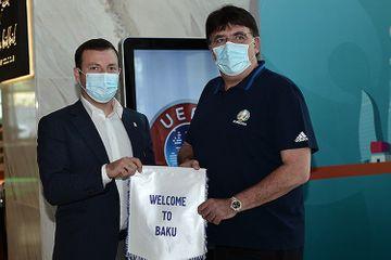 UEFA-nın baş katibi ilə görüşdü – Elxan Məmmədov