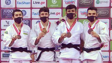 Tbilisidə bürünc medal qazandı - cüdoçumuz