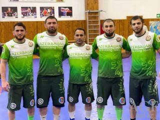 Mahaçqalada hazırlıq keçir - olimpiyaçılarımız