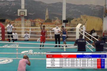 Daha bir boksçumuz Avropa çempionatının 1/4 finalında
