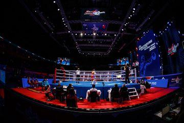 Mester dünya çempionatında boksçumuza rəqib oldu